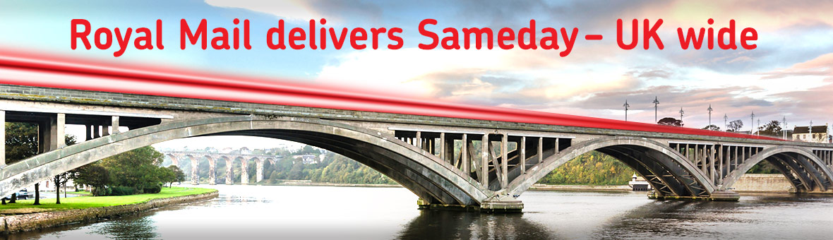 Royal Mail delivers Sameday – UK wide